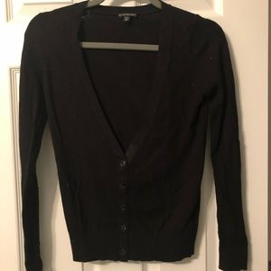 Express Black Cardigan Women's XS Long Sleeve